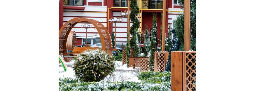Ландшафтний дизайн житлових комплексів